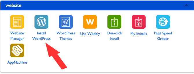Bluehost WordPress Installer