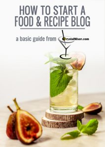 How To Start a Food Recipe Blog