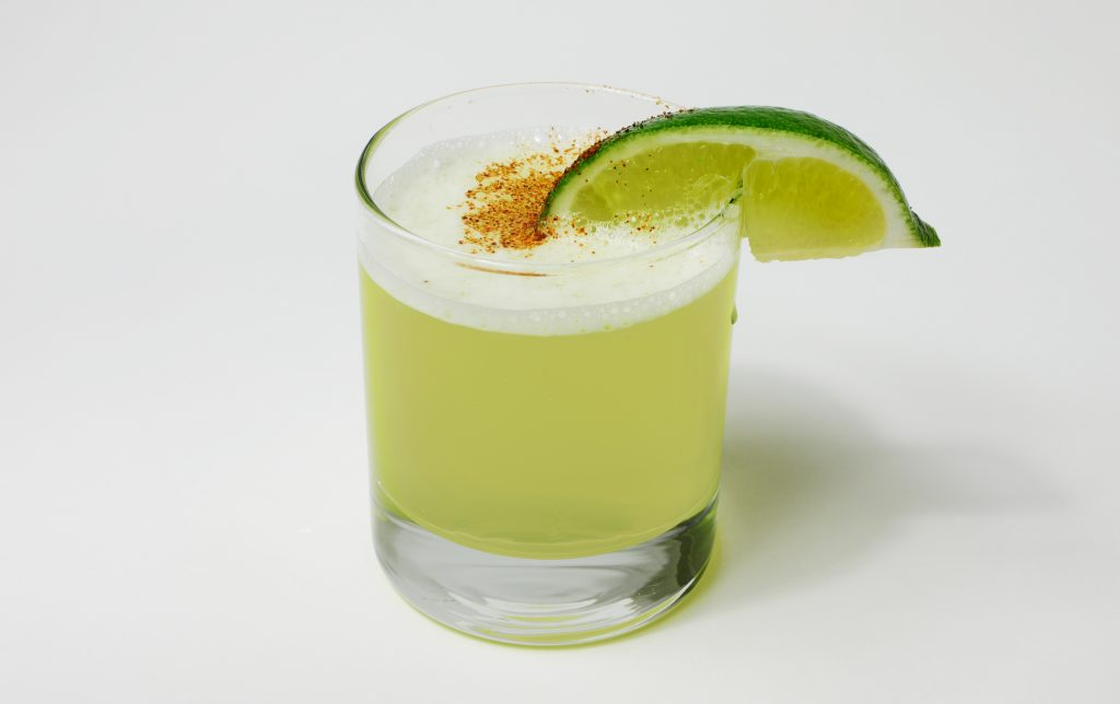 Pisco Sour with Egg Whites and Sugar Recipe