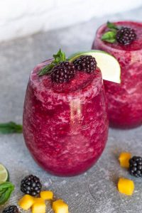 Blackberry Wine Slushie Recipe